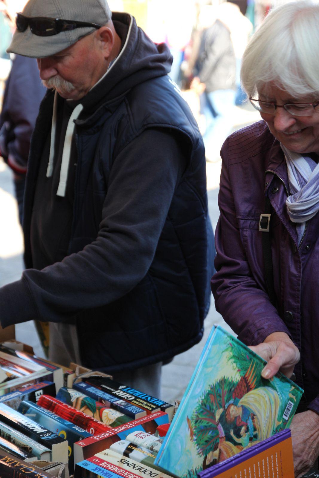 2015-10-03 Pleinmarkt chr. mannenkoor Looft den Heere Vaassen
